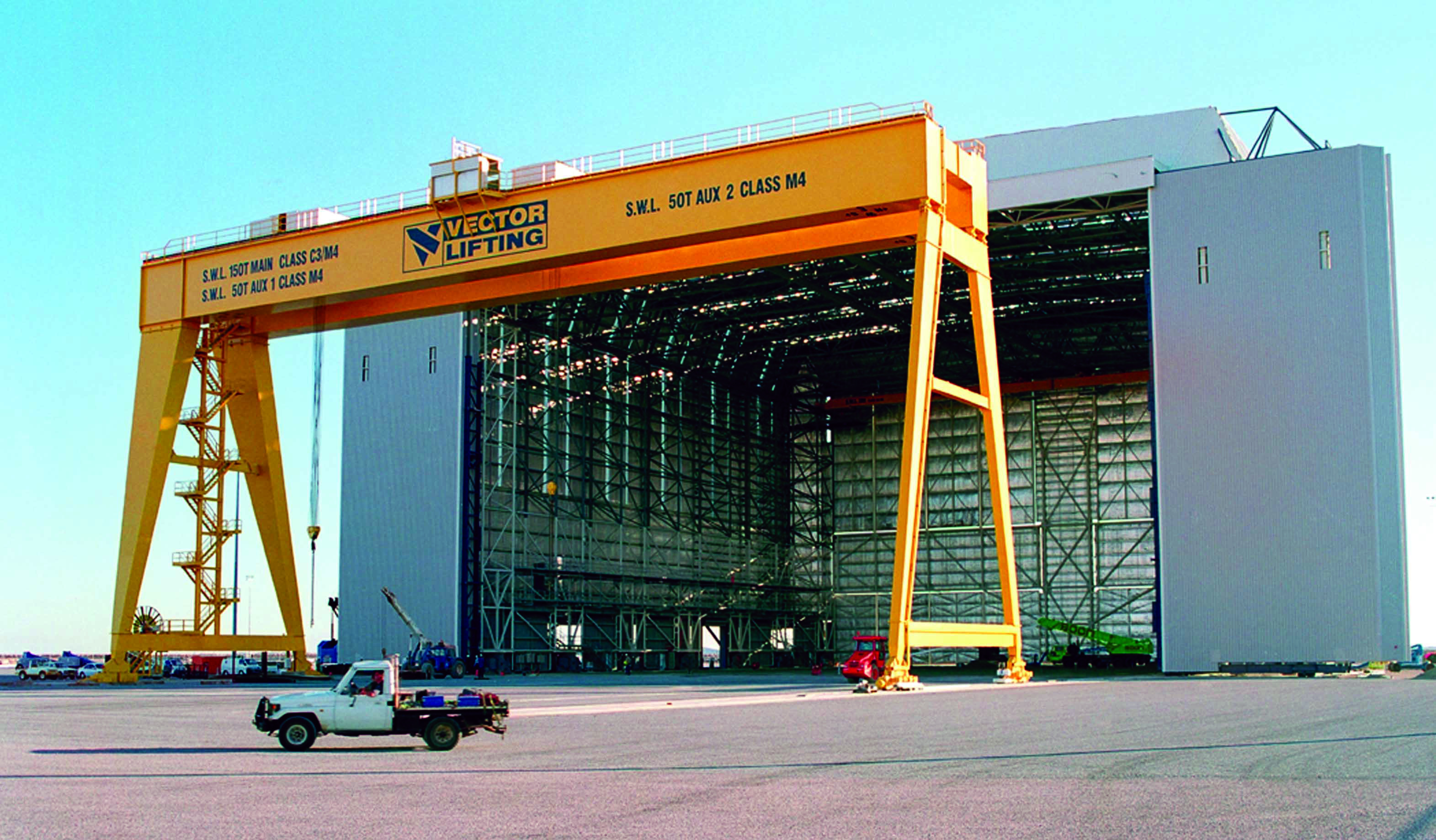 Mobile and Fixed Gantry Cranes - Vector Lifting Vector Lifting